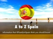 A to Z About Spain