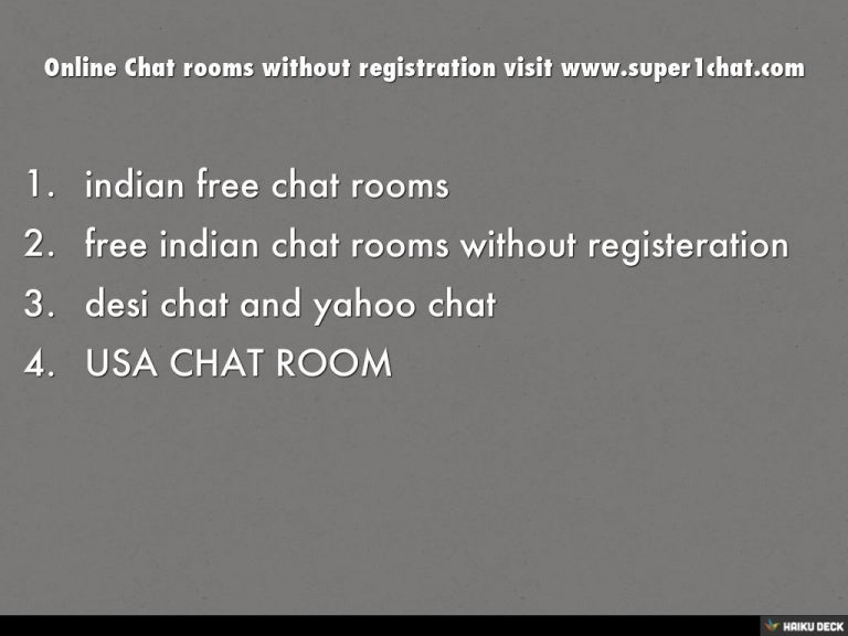 yahoo chat rooms india
