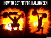 How to get fit for halloween