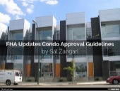 FHA Updates Condo Approval Guidelines