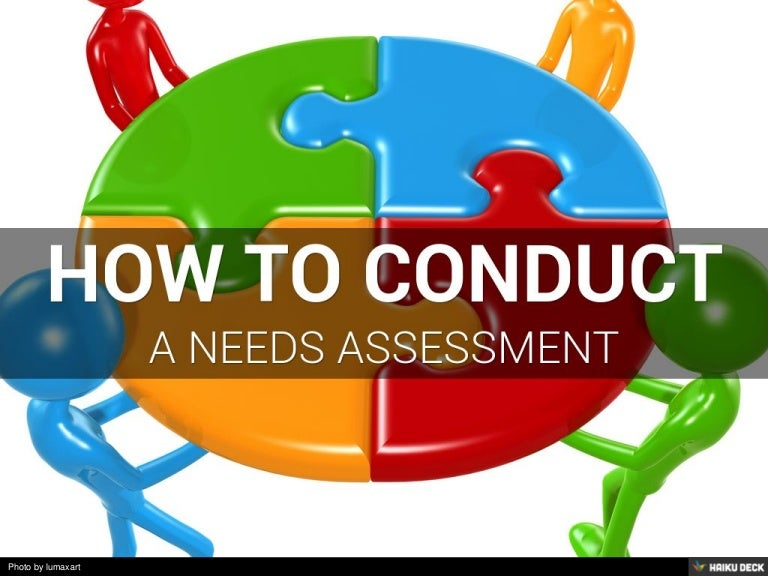 How To Conduct A Needs Assessment