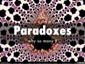 Why Paradoxes