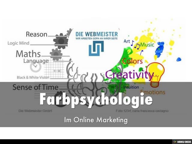 Farbpsychologie im Online Marketing