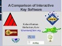 A Comparison of Interactive Key Software
