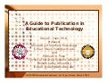 A Guide to Publication in Educational Technology