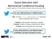 Stance Detection with Bidirectional Conditional Encoding
