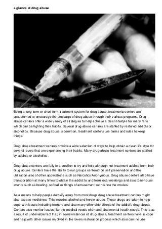 Drug Abuse Short Film