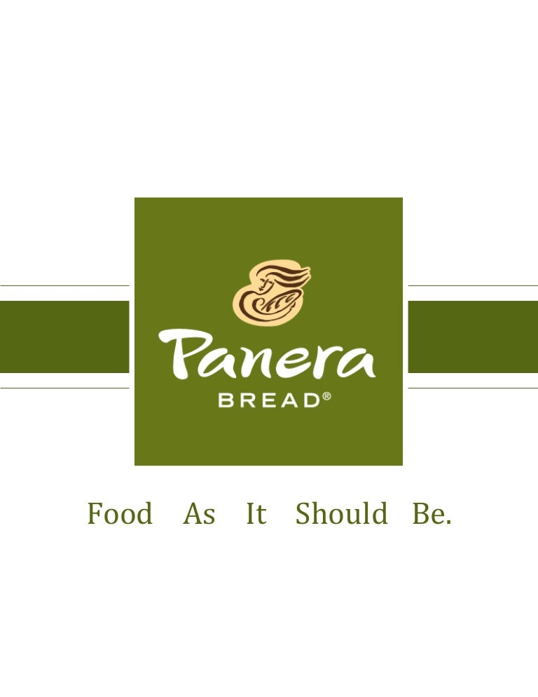 Case solving   Case Study of Panera Bread