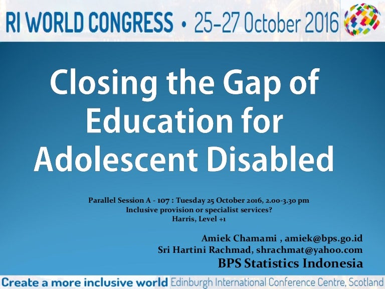 Riwc Para A107 Indonesia And Education