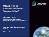 Faa commercial space