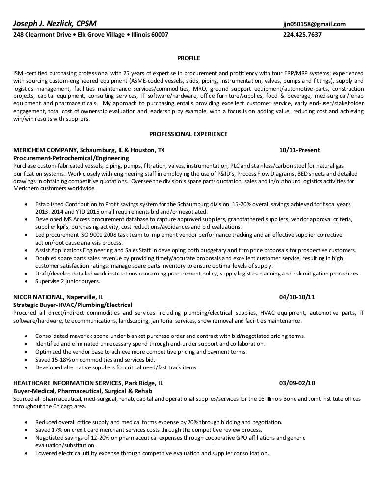 J Nezlick Resume Final