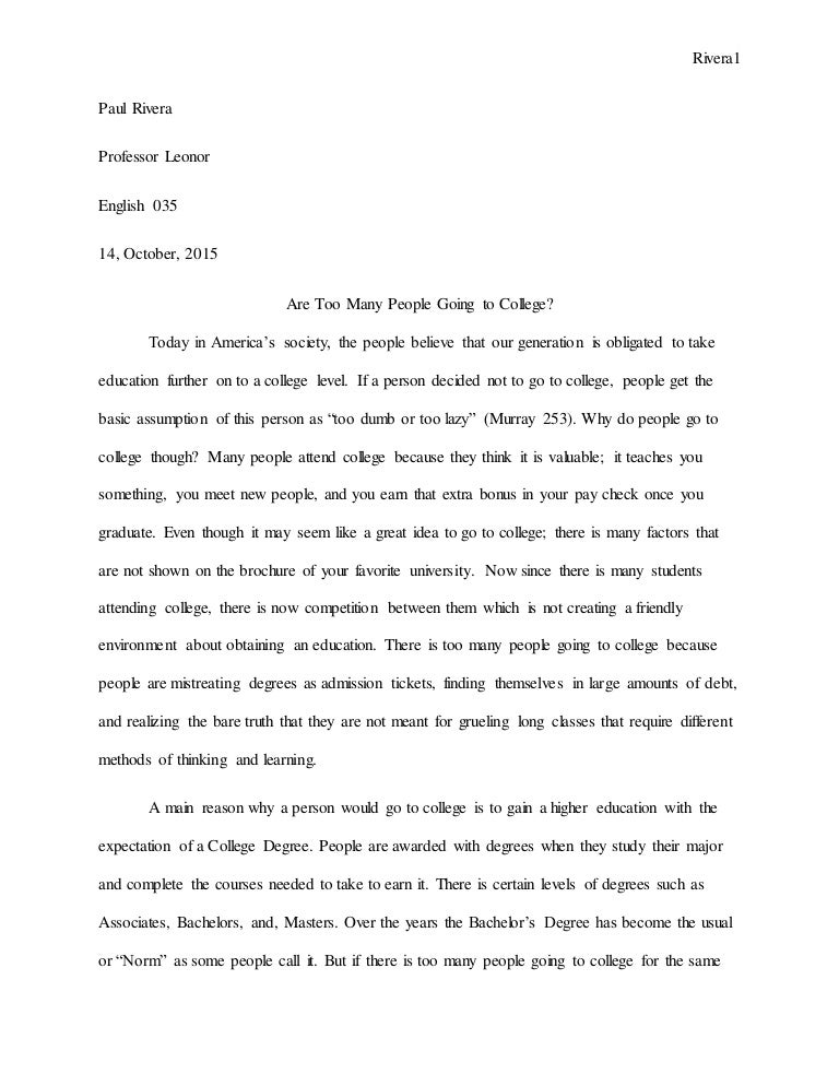 Going To College Essay  Underfontanacountryinncom Going To College Essay Essay On Going To College Binary Options For  Health Insurance Essay also How To Write A High School Essay  Reddit Writing Help