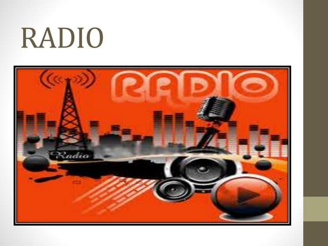 RADIO PPT