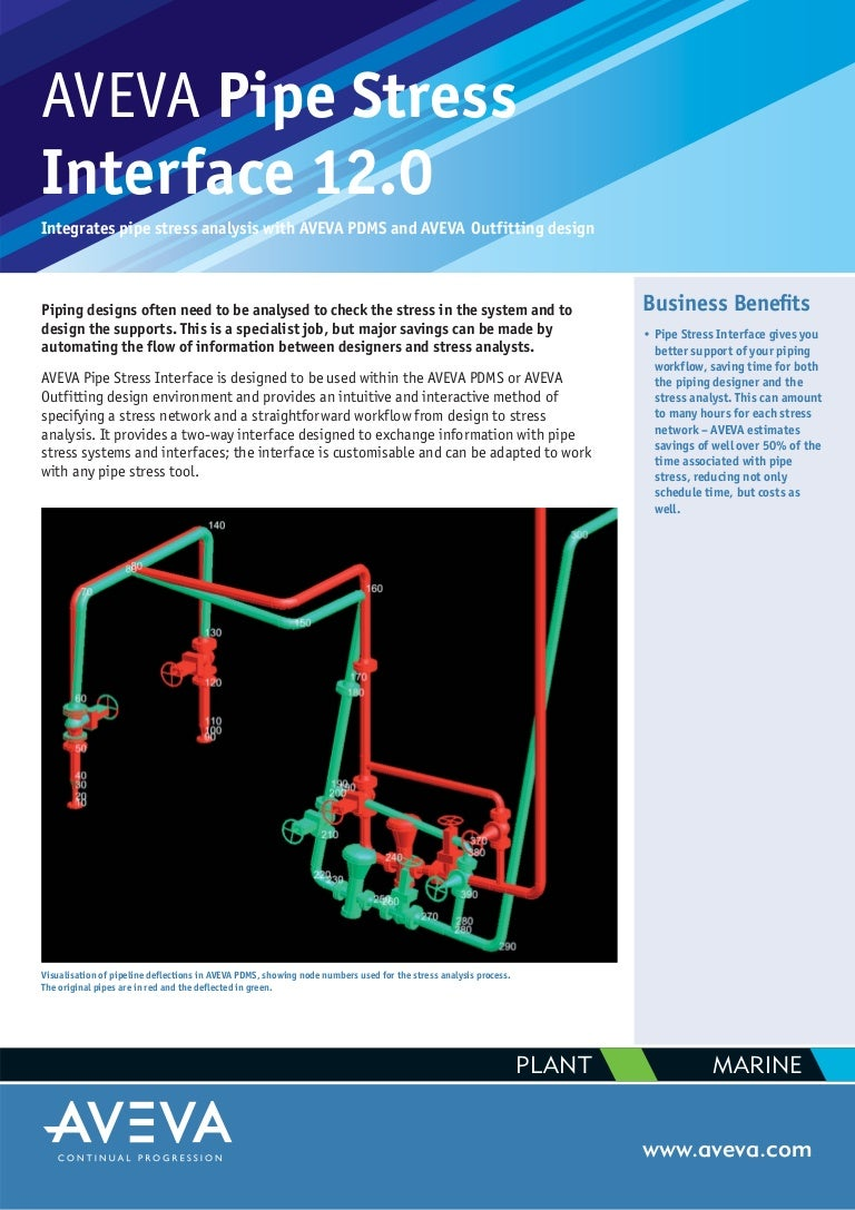 Aveva Pipe Stress Interface Piping Layout Tips