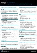 VMware End-User Computing & vSphere with Operations Management Sales Cheat Sheet