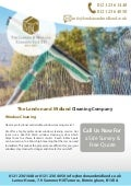 London & Midland Cleaning Company Flyer (A4)