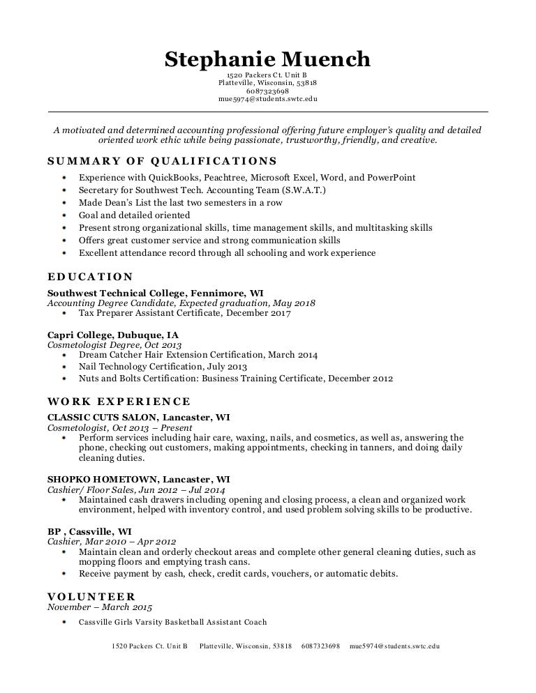 Resume and References2