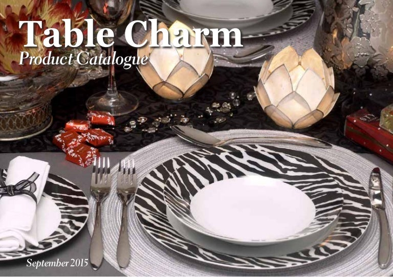 & Table Charm changes lives! Change yours today!