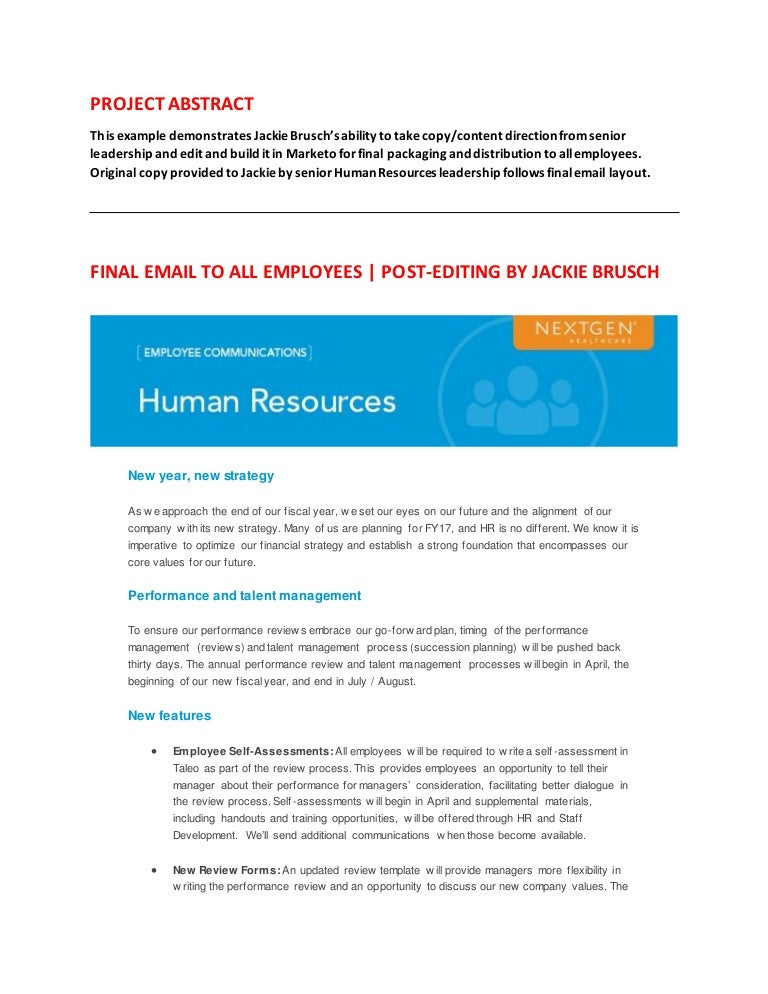 Brusch_Writing_Sample_HR_Update_to_Employees