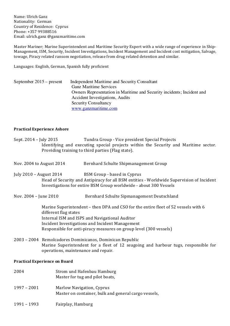 anti piracy security officer sample resume examples of biography ulrich ganz cv a8c59c80 a0f3 4368 99ba 073beb29c67f 150924053653 lva1 app6892 thumbnail 4 ulrich ganzcv anti piracy security officer sample resume