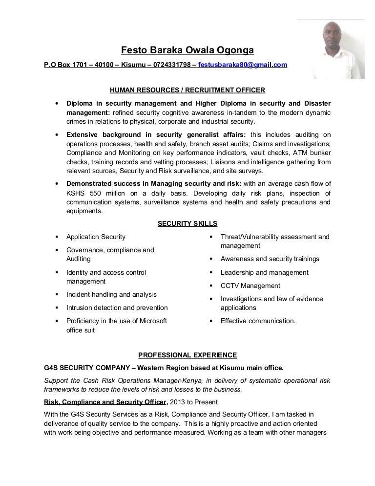 Contemporary Disaster Risk Management Resume Motif - Best Resume ...