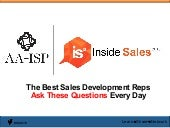 The Best Sales Development Teams Ask These Questions Every Day