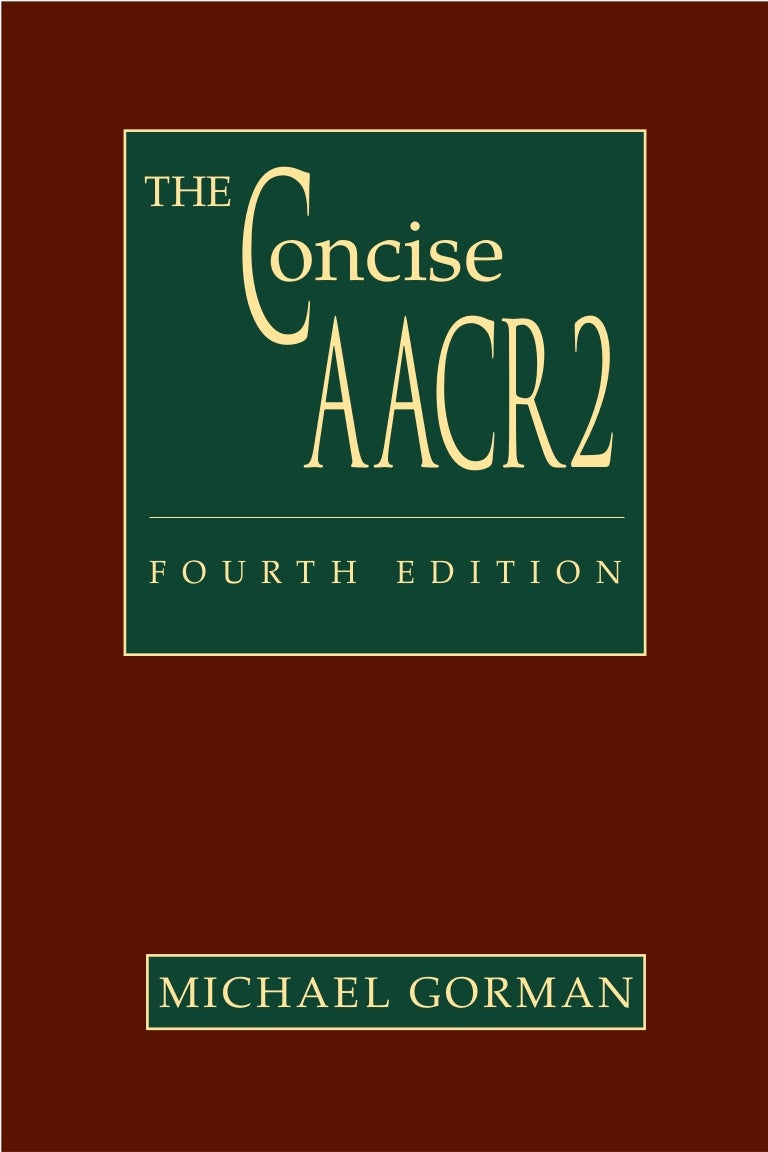 Aacr2 pdf book fandeluxe Gallery