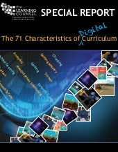 Special Report on 71 Characteristics of Digital Curriculum