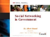 Social Networking in Government
