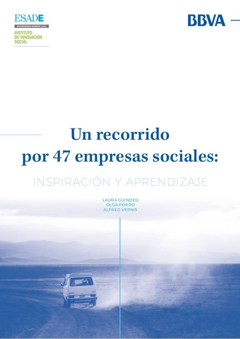 Un recorrido por 47 empresas sociales