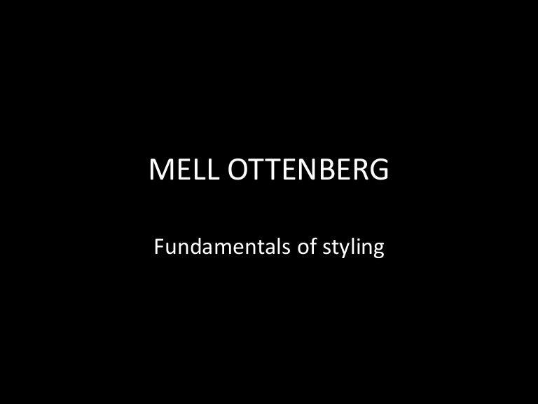 Mell Ottenberg Stylist
