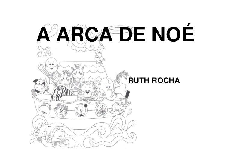 A Arca De Noe Ruth Rocha Para Colorir
