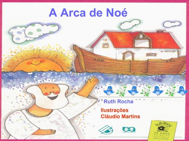 A arca de noé ( letra minúscula com efeitos)