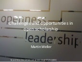 Open scholarship, social media & libraries