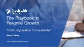 Aaron Ross - The playbook to (re)igniting growth