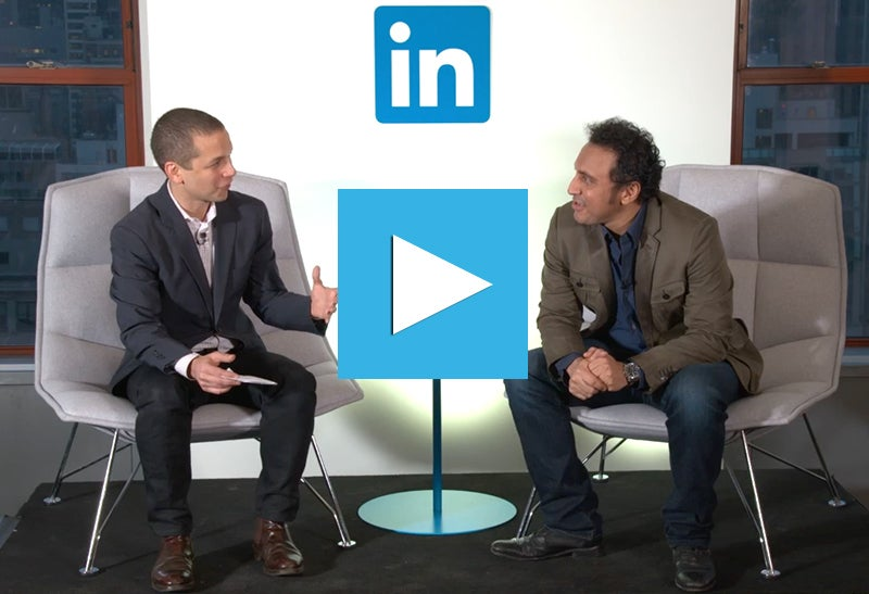 LinkedIn Discussion Series: Executive Editor Daniel Roth Talks to The Daily Show's Aasif Mandvi