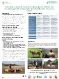 Community-based breeding programs: Attractive and innovative approach to changing the lives of smallholders in low input systems