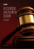 Accounting and auditing update Issue no. 5 | December 2016
