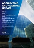 Accounting and Auditing Update - June 2015