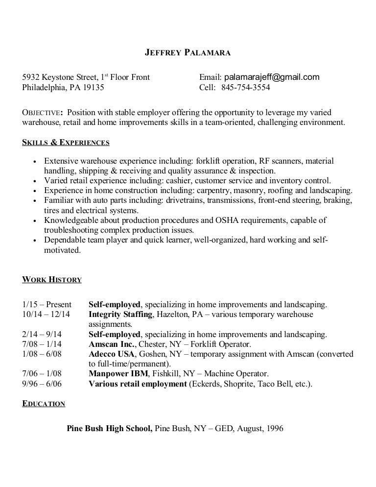 jeff palamara resume 6 5