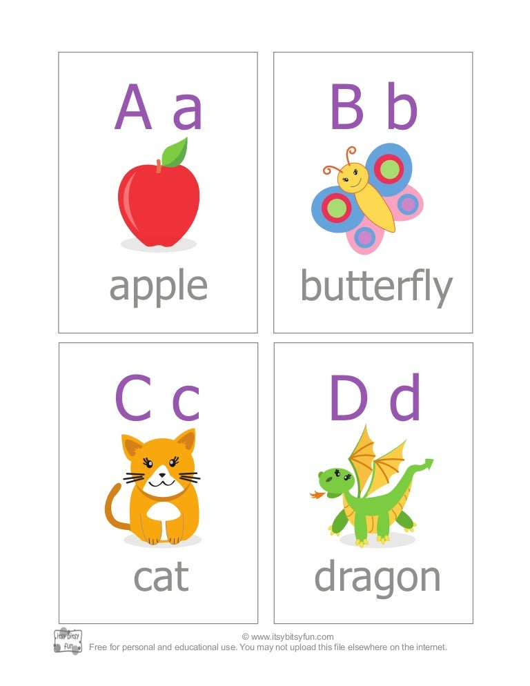 Irresistible image inside abc printable flashcards