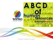 ABCD of Human Resources
