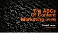 ABCs of Content Marketing (A-M)