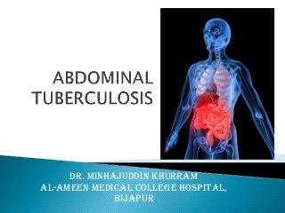 Abdominal tuberculosis