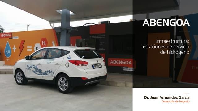 Abengoa Innovación - Infraestructura de estaciones de servicio de hidrógeno