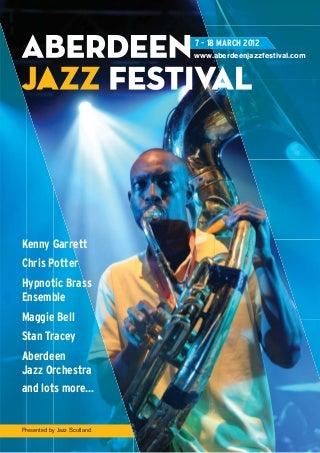 Aberdeen Jazz Festival 2012