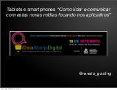 "Palestra ""As 25 etapas para o sucesso no Rich Mobile"" para Aberje - set/ 2011"