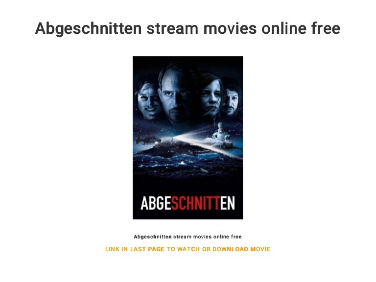 Abgeschnitten Stream Online