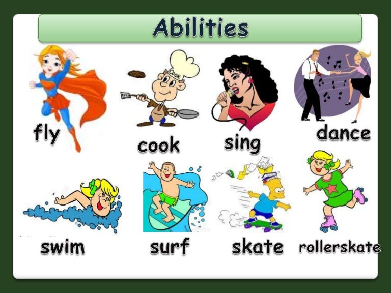 Abilities/Can: PowerPoint
