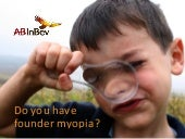 Do you have founder myopia?